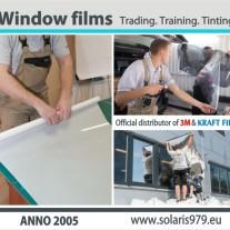 Solaris979.eu Window Films, Official dealer of 3M and Kraftfilms