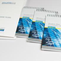 Kraft Films architectural window film sample book